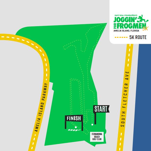 Amelia Island, Florida - Joggin' for Frogmen